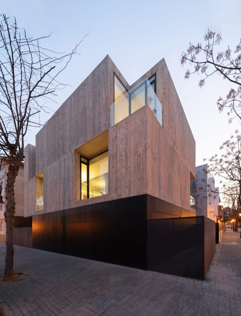 Casa concreto brutalista