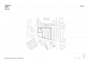 Site plan Dominique Coulon