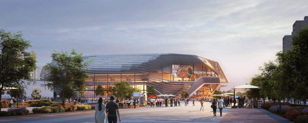 ERRE arquitectura Valencia Arena