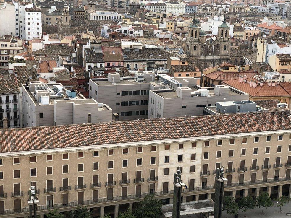 imagen aérea juzgados Zaragoza