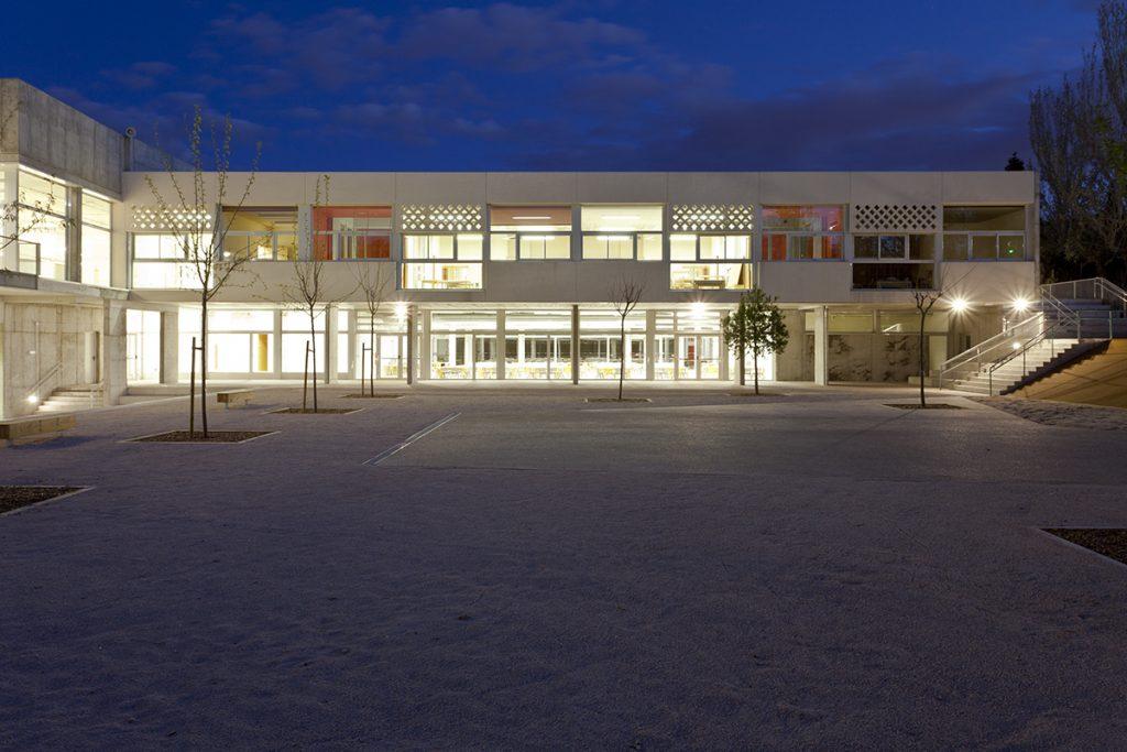 fachada escuela infantil