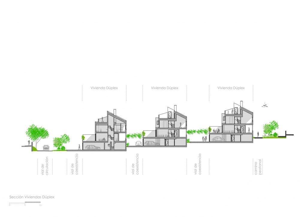 planos viviendas villaviciosa