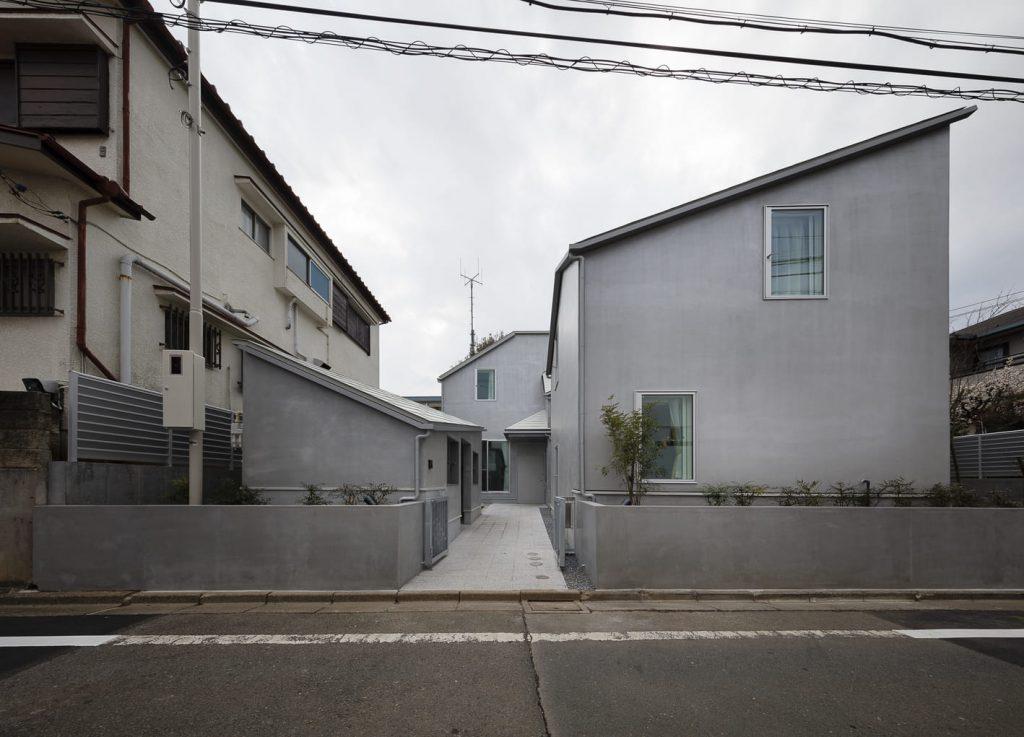 Taku Sakaushi.Casa para niños. Suginami-ku, Tokio. Japón
